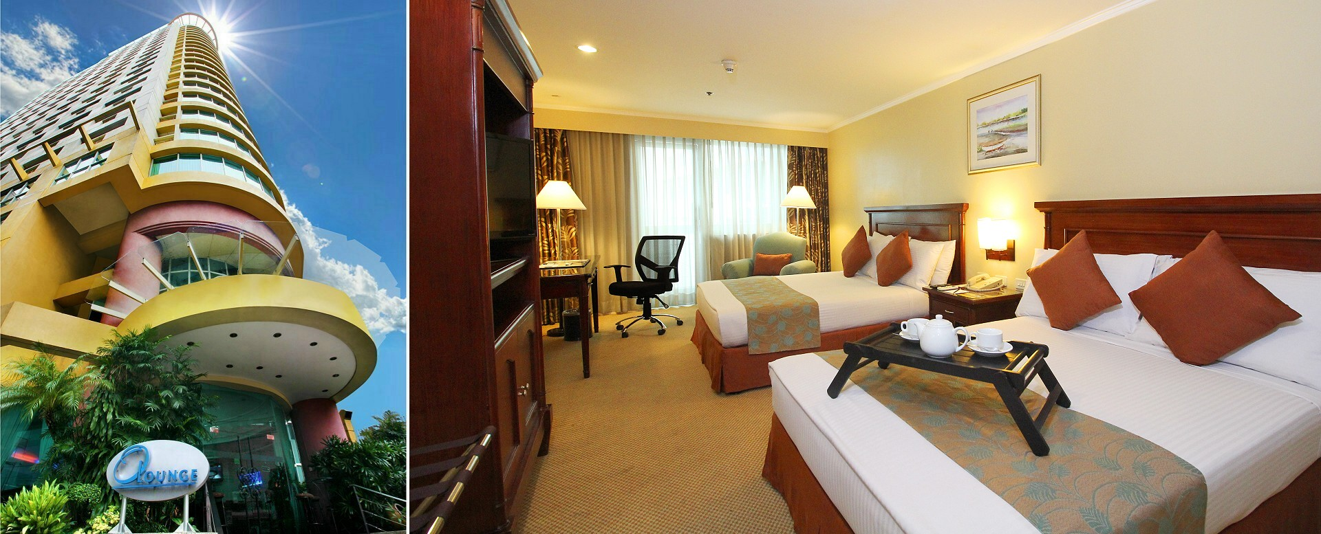 Oxford Suites Makati - Deluxe Double Guestroom